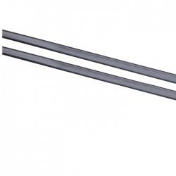 Banda de protectie a marginii de usa  neagra, profil L, Herbert Richter